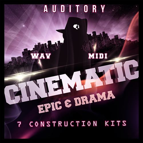Auditory Cinematic Epic and Drama ACID WAV MiDi-MAGNETRiXX
